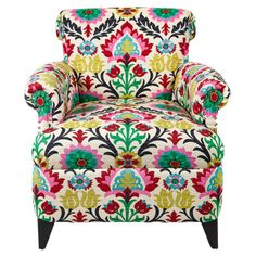Colorful Arm Chair