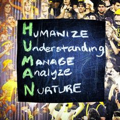 The H.U.M.A.N in Human Resources