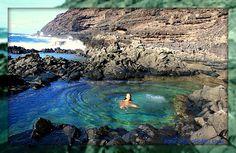 Makapu'u Tidepools, located below the Makapu'u lighthouse. -