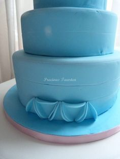 Fondant Circles Cake Tutorial by PreciousPeggy