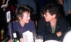 """Laurie Anderson's obit for LOU REED: """"Lou was a tai chi master and spent his last days being happy and dazzled by the beauty and power and softness of nature. He died looking at the trees and doing tai chi with just his musician hands moving through the air. Lou was a prince and a fighter and I know his songs of the pain and beauty in the world will fill many people with the incredible joy he felt for life. Long live the beauty that comes down and through and onto all of us."""""""