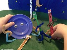 Playful Storytelling: hey diddle diddle craft #storytelling #kids