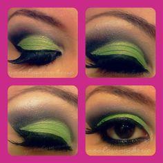 Bright green