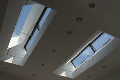 Two rooflights with automated venting openings by IQ Glass