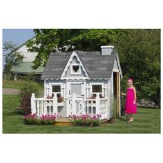 Little Cottage 4x6 VP-WPNK 4x6 Victorian Playhouse - Panelized Kit