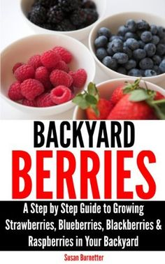 FREE on Amazon today: Backyard Berries - A Step by Step Guide to Growing Strawberries, Blueberries, Blackberries & Raspberries in Your Backyard by Susan Burnetter