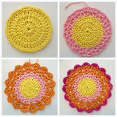 Step4p4_Fotor_Collage crochet mandala pattern free, doily patterns, free crochet mandala pattern, crochet patterns, yarn, crochet mandala tutorial, crochet doilies tutorial