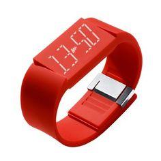 Silent Alarm Clock Watch.