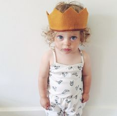 little princess, crown, the queen, baby princess, kid