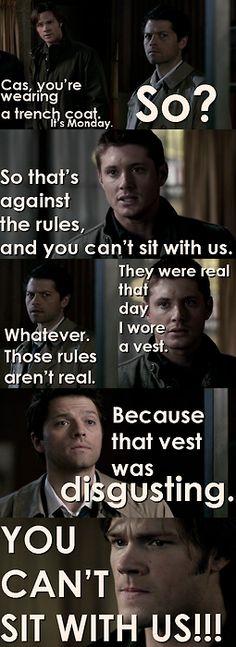 Supernatural meets Mean Girls... lmao!!! Love it!