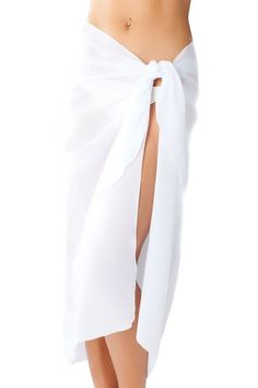 $29.99 Sassy Sarongs Long White Swimsuit Sarong Cover Up with Built in Ties One Size  From Sassy Sarongs   Get it here: http://astore.amazon.com/ffiilliipp-20/detail/B006R1GXCK/179-5145782-1953864
