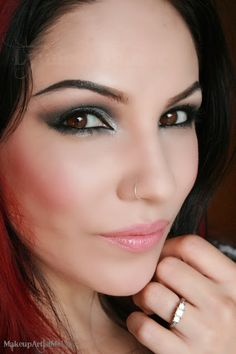 Make-up Artist Me!: Gray Fall Sky - Makeup Tutorial 2013 Fall makeup trend.