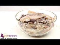 Scuola di cucina: Come pulire i calamari - YouTube