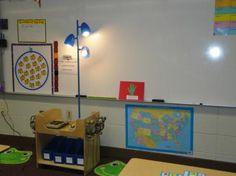 Listening Center classroom center... frog rugs at the listening center