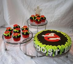 birthday parti, party cupcakes, ghostbusters party ideas, ghostbust parti, ghostbust birthday, ghostbusters cake, ghostbust cake, ghost buster, birthday cakes