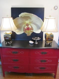 Front Hall Dresser Redo (How To)