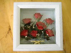 idea for my dried roses