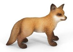 Schleich Red Fox Kit at theBIGzoo.com, an animal-themed superstore.