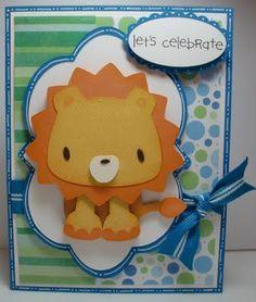 Cricut Birthday Card. Life's a Party Cartridge.    *