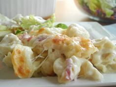 Baked Tortellini - This is wonderful and the sauce is so easy to make.
