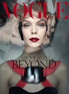 Above and beyond by Steven Meisel, October 2012