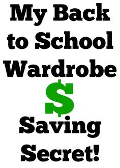 How to Save Money on Kid's Clothes