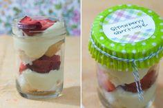 savori recip, cupcake wrappers, cupcake liners, individu strawberri, strawberry shortcake