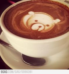 My coffee this morning. > ..: panda-ring to the masses :..