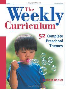 preschool curriculum book