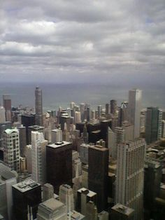 Taken from the Willis Building(Sears Tower). Oct. 6th 2012