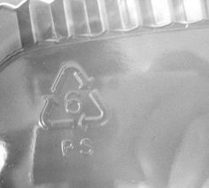 DIY Shrinky Dinks w/ #6 plastic  (polystyrene).   Cut into flat sheet.  Draw or write your desired image or text on your plastic canvas using permanent markers. Will shrink to 1/3 size-Heat oven to 350°-cover baking sheet with foil-Bake 3-3.5 min. Art will curl up at first but then flatten.remove from oven. Plyable for ~10seconds-cut drill when cool.