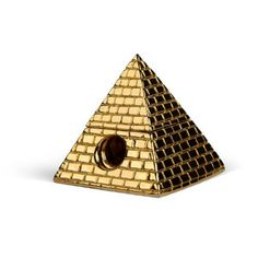 Brass Pyramid Pencil Sharpener