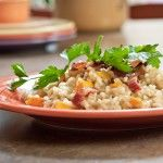 Bacon Butternut Squash Risotto Recipe