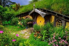 Hobbiton Movie Set and Farm Tours, Matamata, New Zealand