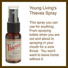 Testimonies from Me and My Family on Thieves Spray www.essentialoillover.com #essentialoillover #youngliving #oilyfamilies