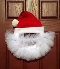 Santa Tulle Wreath