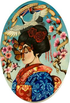 Lisa Perrin oriental print