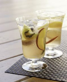White Tea Sangria #cocktails