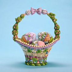 Jim Shore Annual Easter Basket #easter #gifts #presents