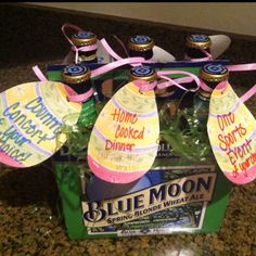 Easter egg hunt for a man!  I hid them in the yard and gave him the box-basket for collecting them!