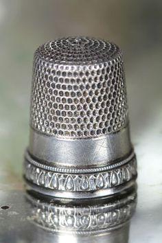 antique thimble