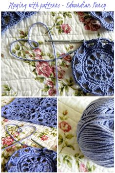 @ Annie's Place: Crochet block adapted from Edwardian Fancy in Jan Eaton's book: 200 Crochet Blocks for Blankets, Throws & Afghans