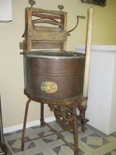 1926 Cast Iron & Wood Washing Machine