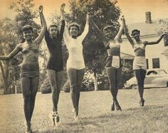 Camp Atwater Ballet Group, 1951 ~ Beautiful moment in history