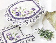 banheiro crochê, de banheiro, rug, jogo de, bathroom crochet, baño, crochet mat, crochet bathroom, jogo banheiro