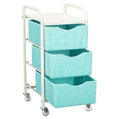 ROlling storage cart! Super cute and handy