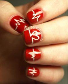 Cardiac rhythm nails
