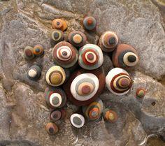 rock pebbles.