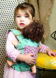 Baby Doll Carrier Tutorial - mama smiles
