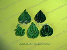 Leaf quilling tutorial